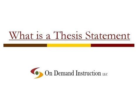 Thesis statement for epilepsy research paper